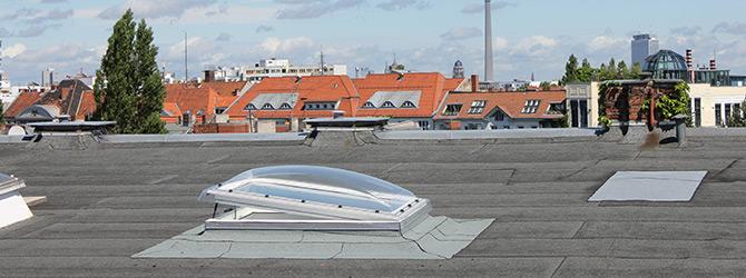 Lichtkuppel Karlsson Dachdeckerei Und Bauklempnerei In Berlin